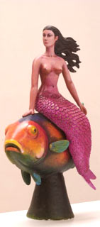 Example of Sergio Bustamante's work - Mermaid, where is the Sea?