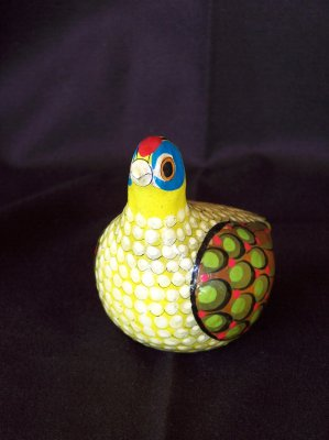 Small bird. My first piece! 1960s - 1970s.