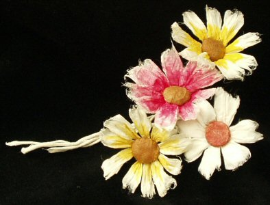 Papier Mache Tutorials Daisy Flower