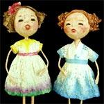 Papier Mache Doll by Pun Hui Falkenhainer