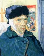 Self Portrait With Bandaged Ear - 1889