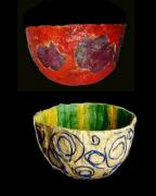 2 Bowls by Susan Pilchler