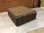Rusty gift box by Richard Will