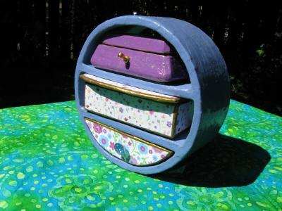 """Little Round Jewelry Box"" by Richard Will"
