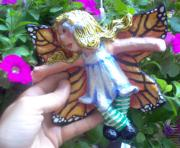 Monarch Butterfly Fairy by Deedra Levy
