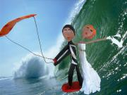 kite surf - marriage by Anastasia Asvesta