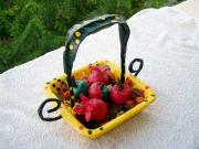 basket whit  apple and grenade by Magor Limor
