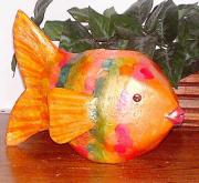 Fish planter by Tammy Wilson