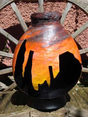 """Silhouette Pot"" by Jackie Hall"
