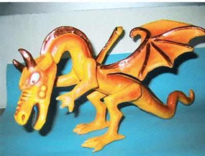 """Butane (orange dragon)"" by Jean-Paul Tarasco"