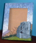 Dolbadarn castle mirror/picture frame by Davey B