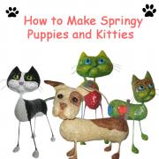 Springy Puppies and Kitties E-book by Moni
