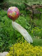 Flower Balloon by Marion Auger