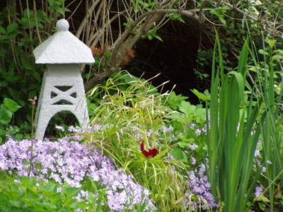 """Garden Pagoda"" by Marion Auger"