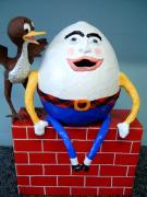 Humpty Dumpty and Baby Bird by Diane Sarracino