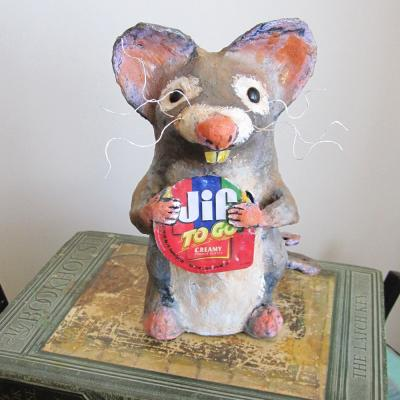 """Mouse Likes Jiff"" by Christina Colwell"
