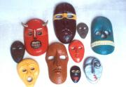 Masks by Eric Cordero