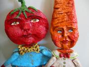 Tomatoe and Carrot Pals by Debra Schoch