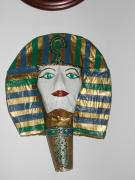 egyptian mask by Ruth Gal