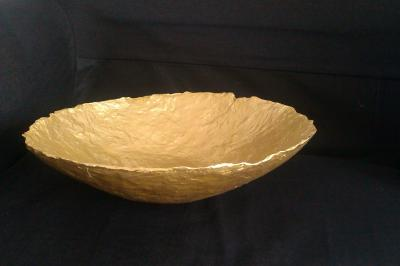 """Gold plate"" by Patricia Ringeling"