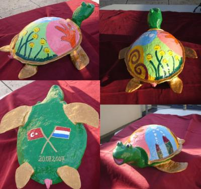 """Crazy turtle"" by Cathrin Haake"