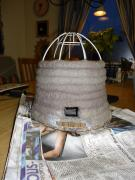 Beehive in progress by Anna Ohlsson