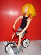 I am riding my bike by Noga Keren