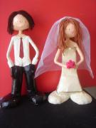 bride and groom by Noga Keren
