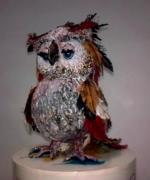 OWL 2 (sold) by Dahlia Oren