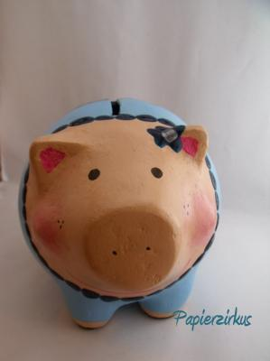"""piggy bank ""Annabelle"""" by Christina Detmers"
