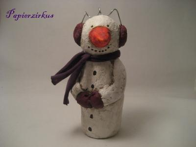 """snowman"" by Christina Detmers"