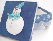 Snowball - Holiday Gift Box by Vicki Pringle