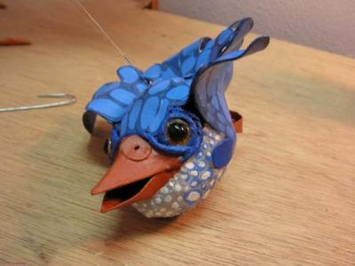 """Blue Bird of Happiness_a"" by Scylla Earls"