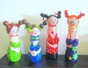funny dolles by Rina Ofir