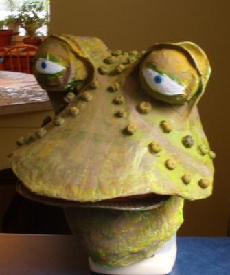 """Toad - Theatre Mask"" by Karen Sloan"