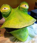Frog Mask by Karen Sloan