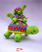 Turtle trio/ 60x35x45 by Jose Tobar