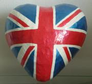 I Heart The Union Jack - Money Box by Danni Johnson