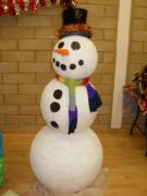 Kevin the Snowman. by Danni Johnson