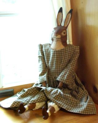 """Old World Rabbit Doll"" by Lynne OBrien"