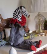 Zebra doll by Lynne OBrien