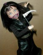 Kuchisake Onna Customized Doll by Mark Patraw