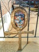 "MAGILL FAMILY ""ANKH"".. MASK by Carolyn Bispels"