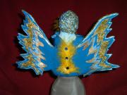 Fairy Has The Blues- Back View by Carolyn Bispels