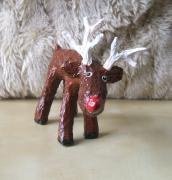 'red nose'  reindeer by Sharon Trott