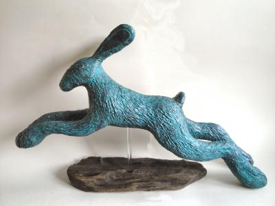 """Another View of Verdigris Hare"" by Julie Whitham"