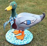 Another view of Mallard Duck by Julie Whitham