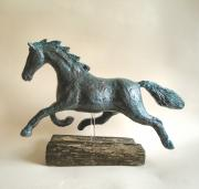 Bronze effect Horse by Julie Whitham