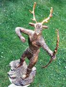 Another view of Herne the Hunter by Julie Whitham