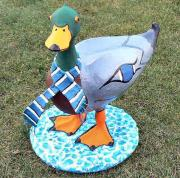 Mallard Duck ( commission for shop) by Julie Whitham